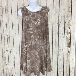 Audrey 3+1 tie dye dress size small